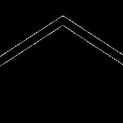 Le logo du cabinet antistress représente le toit d'une maison japonaise